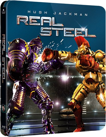Real Steel - Steelbook Edition (UK EDITION)