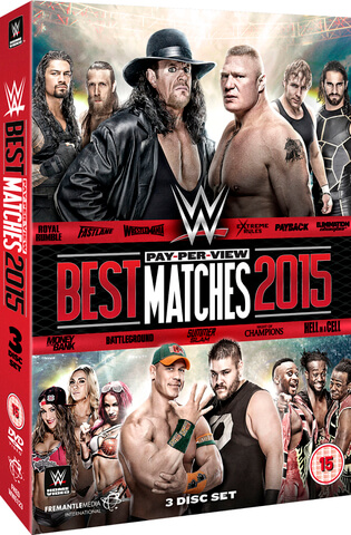 WWE: Best PPV Matches 2015
