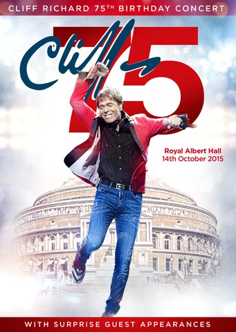 Cliff Richards 75th Birthday Concert