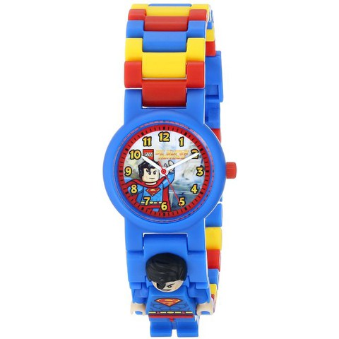 LEGO DC Universe: Super Heroes Superman Minifigure Link Watch