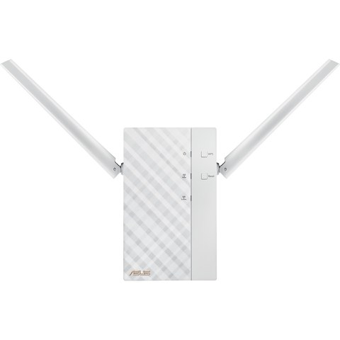 ASUS RP-AC56 Dual Band Wireless-AC1200 Rotatable Wall-Plug Range Extender with Adjustable Antenna