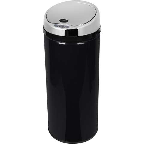 Morphy Richards 971512/MO 42L Round Sensor Bin - Black