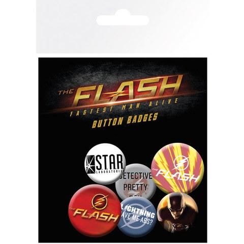 Lot de Badges The Flash Assortiment - DC Comics