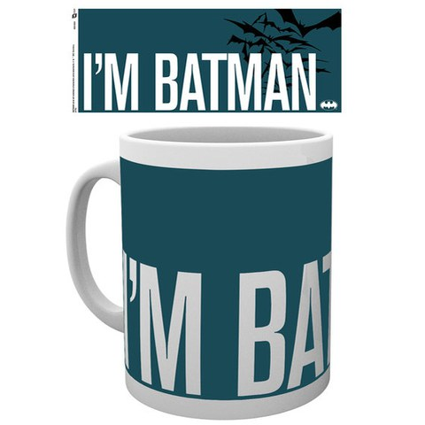 DC Comics Batman Comic I'm Batman Simple - Mug