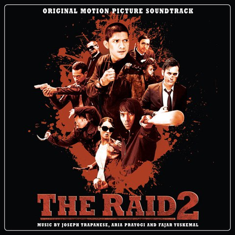The Raid 2 - The Original Soundtrack OST (1LP) - Black Vinyl
