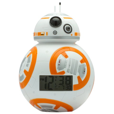Star Wars The Force Awakens BB-8 BulbBotz Alarm Clock