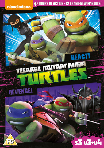 Teenage Mutant Ninja Turtles – React & Revenge! (S3, V3 & V4)