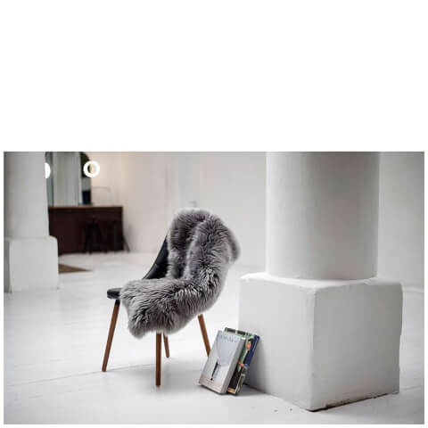 Royal Dream Groß Schaffellteppich in Grau