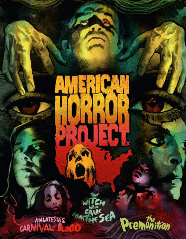American Horror Project: Volume 1 - Limited Edition - Dual Format (Includes DVD)