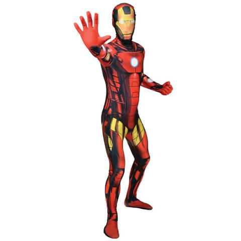 Morphsuit Iron Man -Adulte