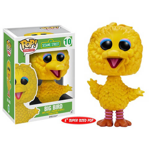 Sesame Street Big Bird 6 Inch Pop! Vinyl Figure