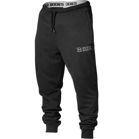 Better Bodies Men's Tapered Sweatpants - Black
