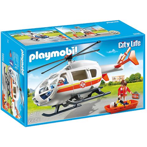 Playmobil City Life Flying Ambulance (6686)