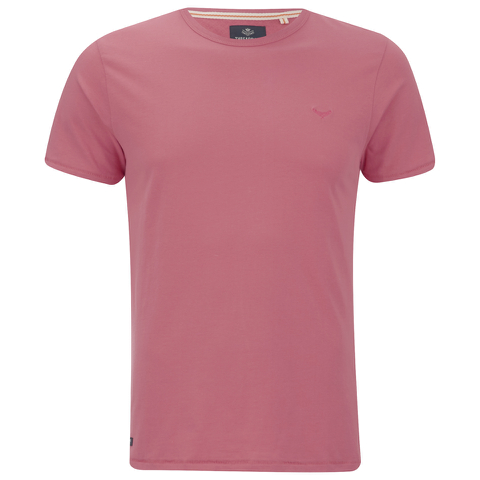 Threadbare Men's William Crew Neck T-Shirt - Coral