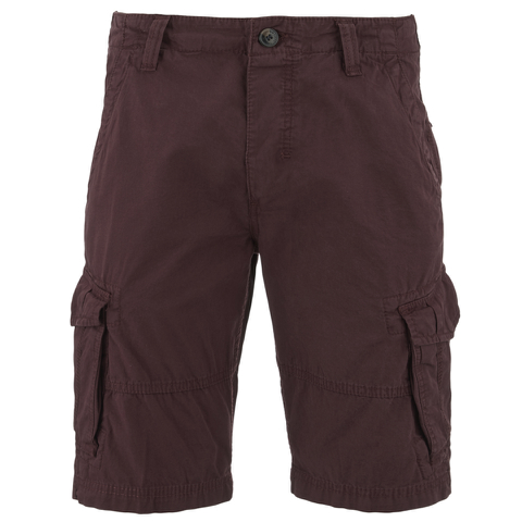 Threadbare Men's Hulk Cargo Shorts - Burgundy