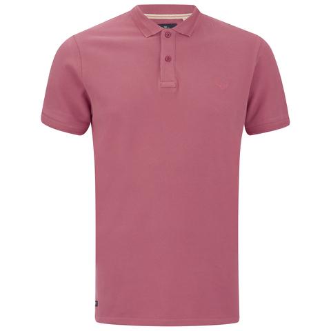 Threadbare Men's Fred Polo Shirt - Coral