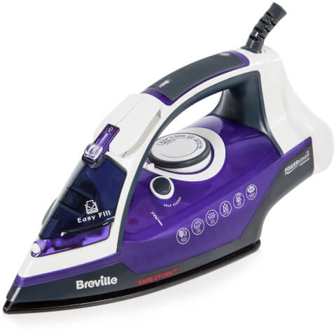 Breville VIN368 Steam Advance Steam Iron - Purple - 2600W