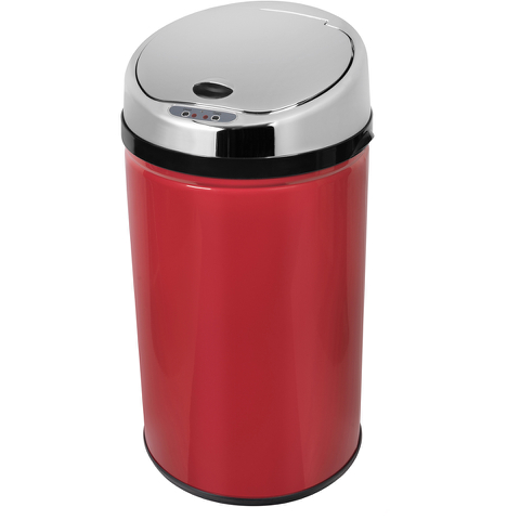 Morphy Richards 971496/MO Round Sensor Bin - Red - 30L