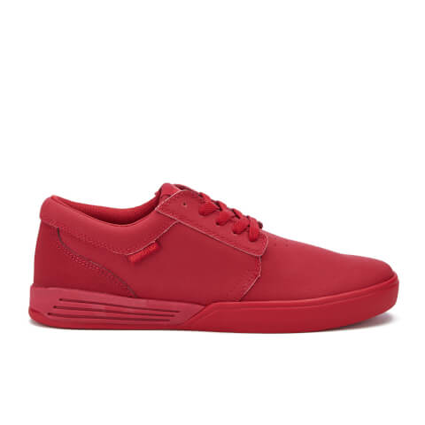 Supra Men's Hammer Leather Trainers - Red