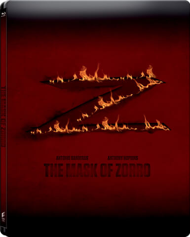 The Mask of Zorro - Zavvi Exclusive Limited Edition Steelbook