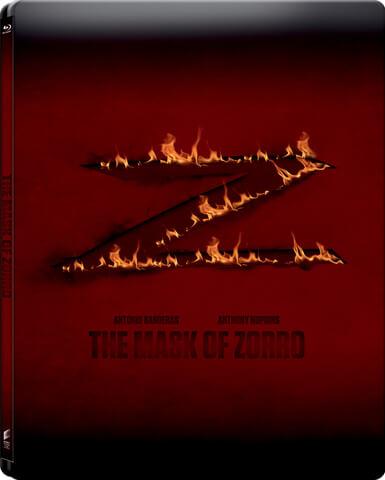 Die Maske des Zorro - Zavvi exklusives Limited Edition Steelbook