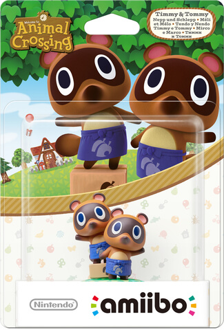amiibo Timmy and Tommy - Animal Crossing Collection