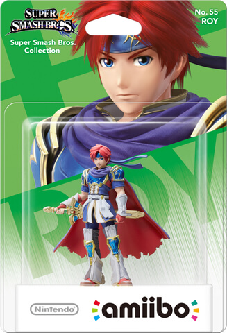 amiibo Smash Roy No.55 amiibo
