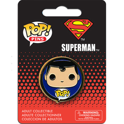 DC Comics Superman Pop! Pin Badge