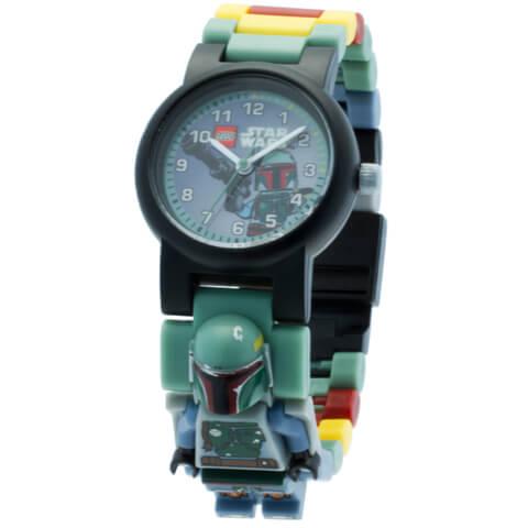 LEGO Star Wars Boba Fett Mini Figure Link Watch