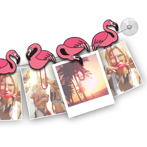Clipit Flamingos Picture Hanger