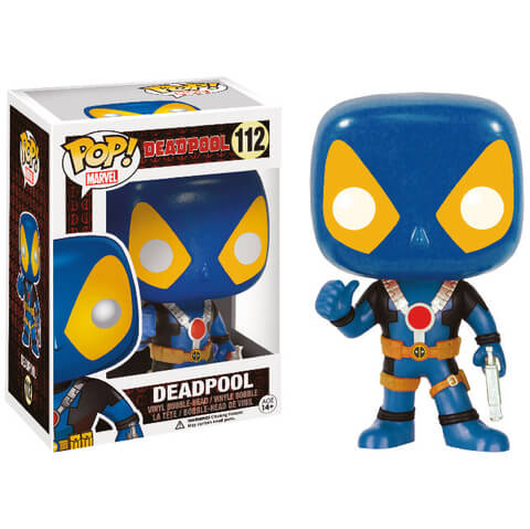 Marvel Deadpool Thumbs Up Blue X-Men Exclusive Funko Pop! Figuur