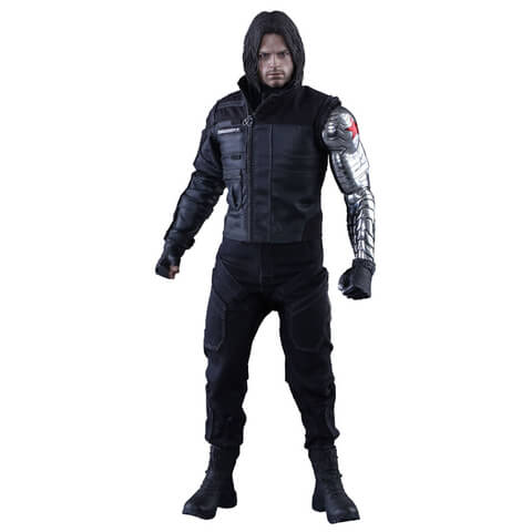 Hot Toys Marvel Captain America Civil War Winter Soldier 12 Inch Figure