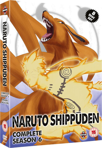 Naruto Shippuden: Complete Series 6 (Episodes 245-296)