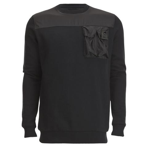 4Bidden Men's Liberty Crew Neck Sweatshirt - Black
