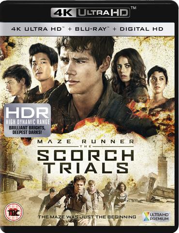 Maze Runner: The Scorch Trials - 4K Ultra HD