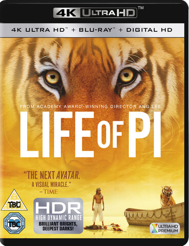 Life of Pi - 4K Ultra HD