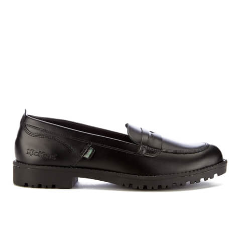 Kickers Womens Lachly Loafers - Black - UK 5/EU 38