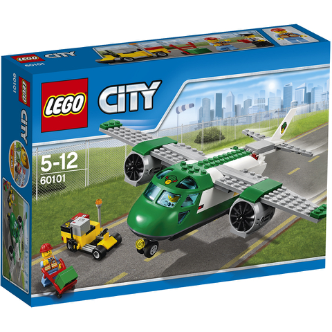 LEGO City: Vliegveld vrachtvliegtuig (60101)
