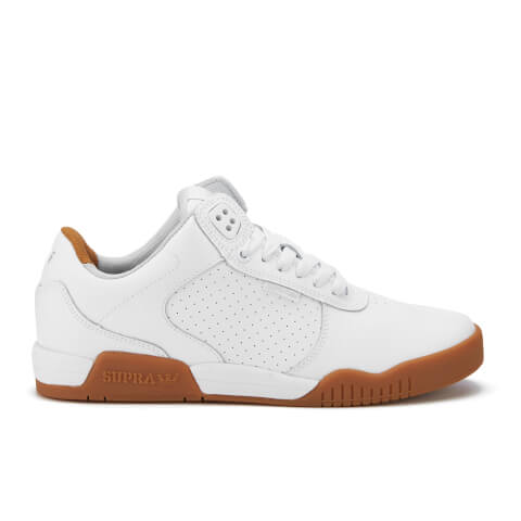Supra Men's Ellington Trainers - White/Gum
