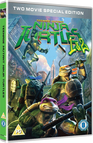 Teenage Mutant Ninja Turtles - 2 Movie Collection