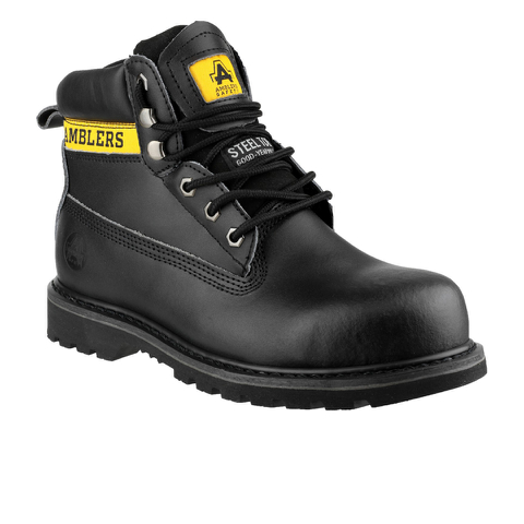 Amblers Safety Men's FS9 Lace Up Boots - Black