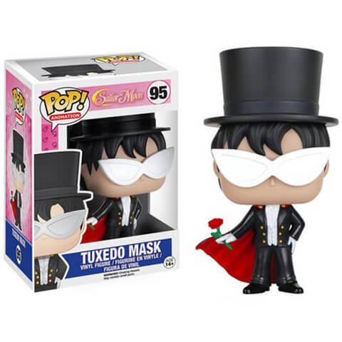 Sailor Moon Tuxedo Mask Funko Pop! Figuur