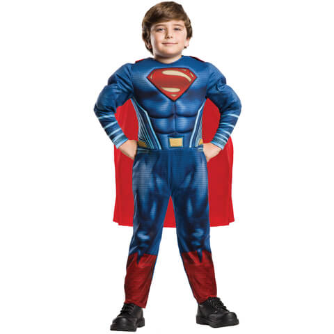 DC Comics Boys' Deluxe Superman Fancy Dress