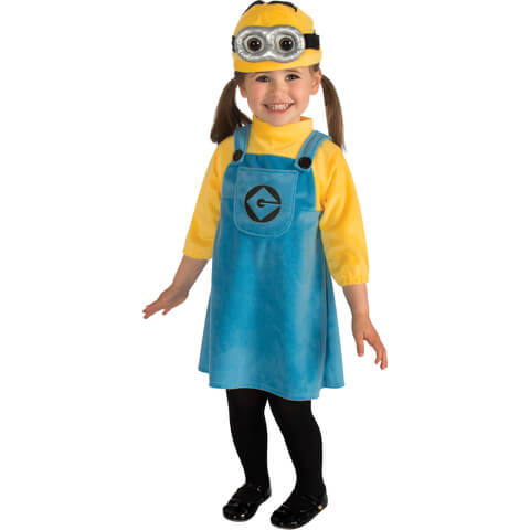 Minions Girls' Fancy Dress
