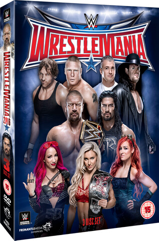 WWE: WrestleMania 32 - Ultimate Collector's Edition