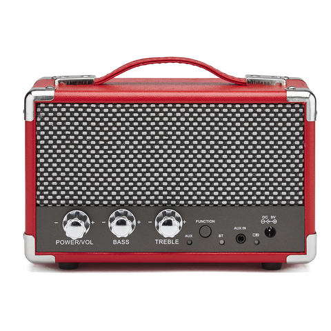 GPO Retro Mini Westwood Bluetooth Speaker - Red
