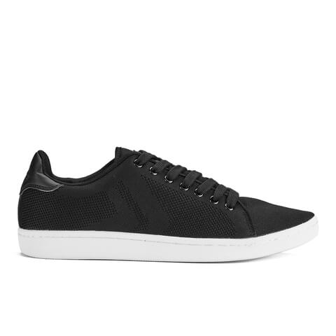 Crosshatch Men's Cross Shot Mesh Trainers - Black