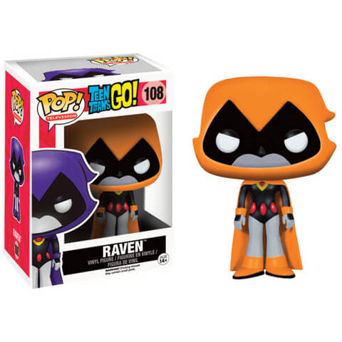 Teen Titans Go! Raven Orange Pop! Vinyl Figure