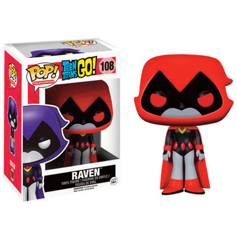 Teen Titans Go! Raven Red Funko Pop! Figuur