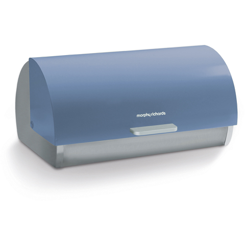 Morphy Richards 974002 Bread Bin Roll Top Cornflower Blue
